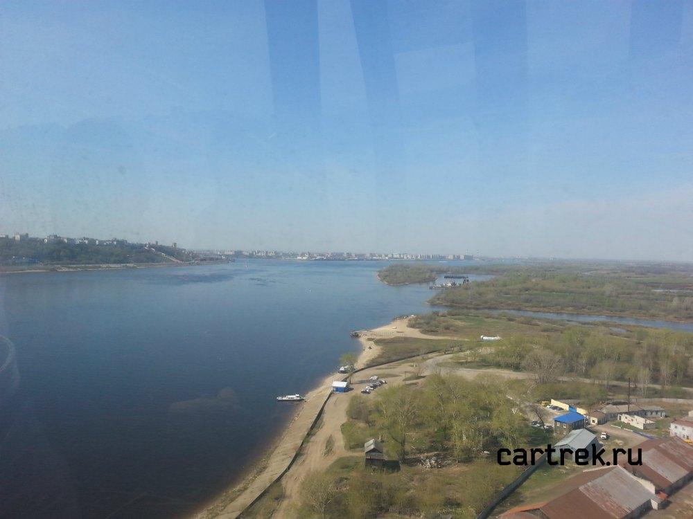 Канатная дорога. Нижний Новгород
