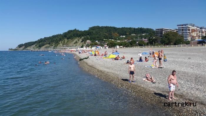 Фотография городского пляжа