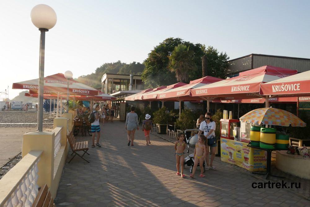 Фото городского пляжа Дагомыса