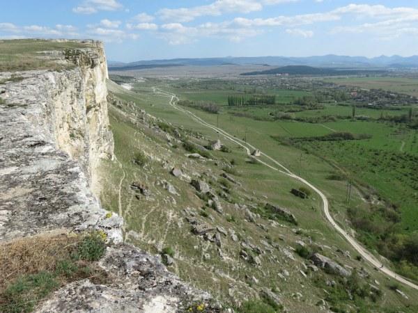 Белая скала. Вид с вершины