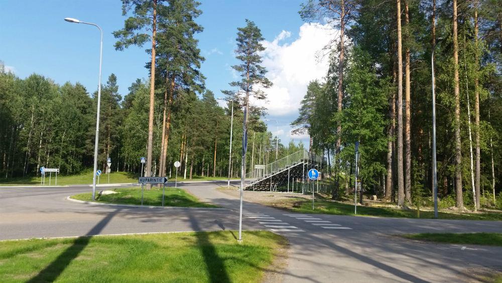 На велосипеде к МАПП Светогорск