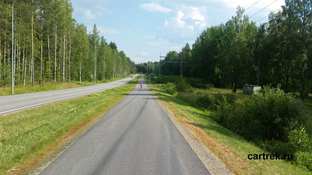 В Финляндию на велосипеде через Светогорк