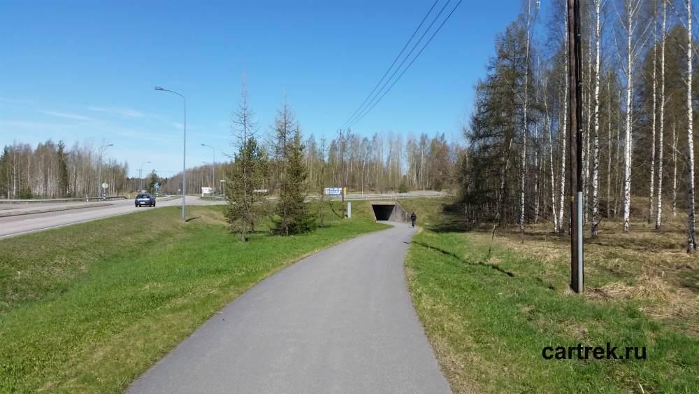 На велосипеде по Финлядии