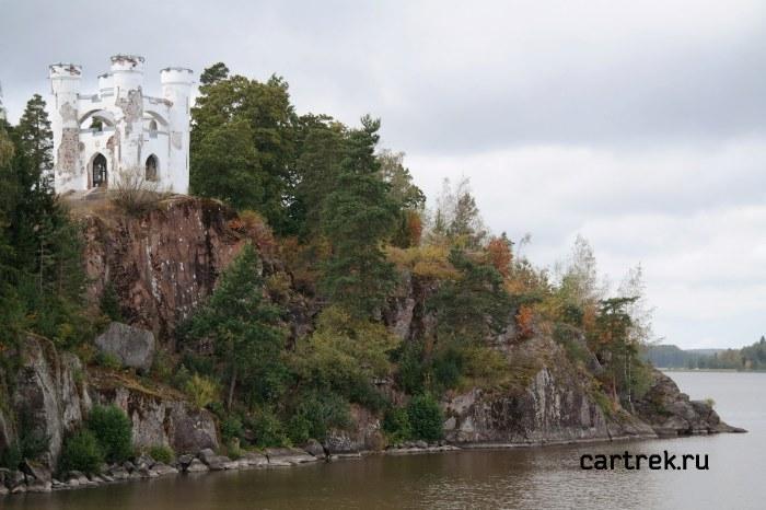 Парк Монрепо - остров Людвигштайн