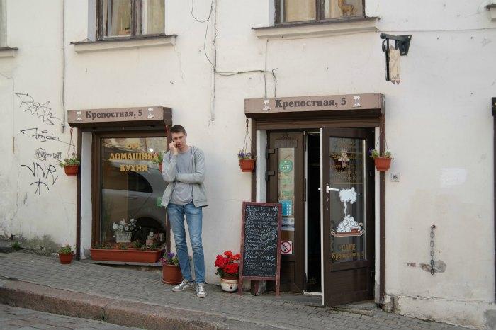 """Кафе """"Крепостная 5"""" в Выборге"""