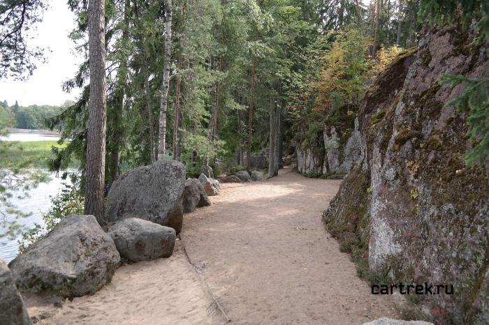 Гранитные каменные гряды