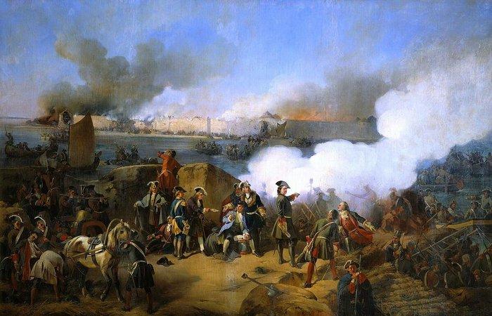 «Штурм крепости Нотебург 11 октября 1702 года»