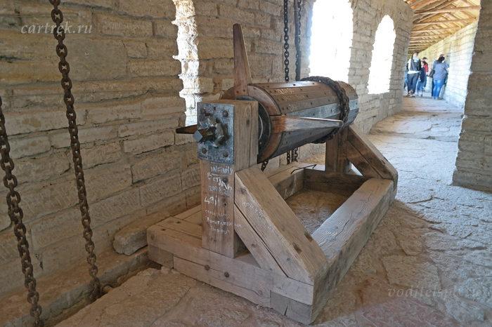 Устройство для закрытия крепостных ворот