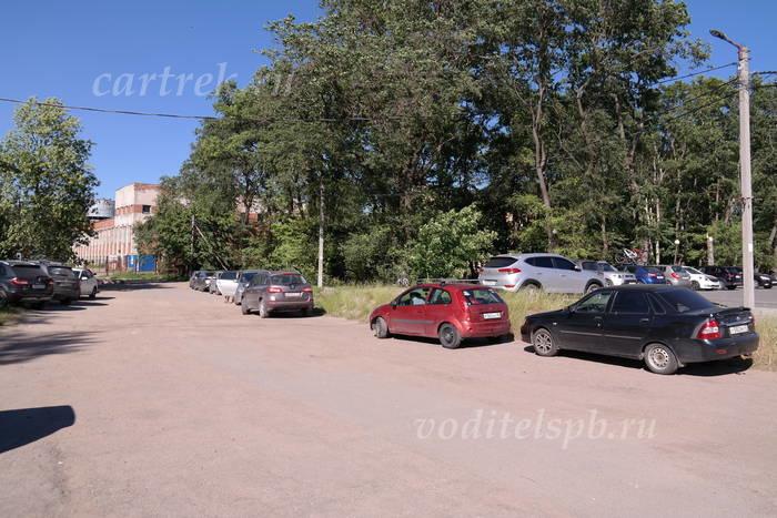 Парковка у пристани