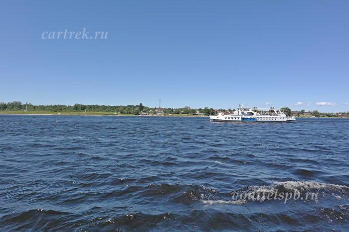 Корабль из острова Ореховый в Шлиссельбург