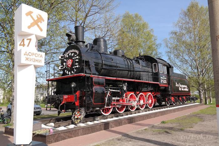 Памятник паровозу Эш-4375 «Комсомолец»
