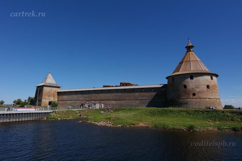 Шлиссельбург - крепость Орешек