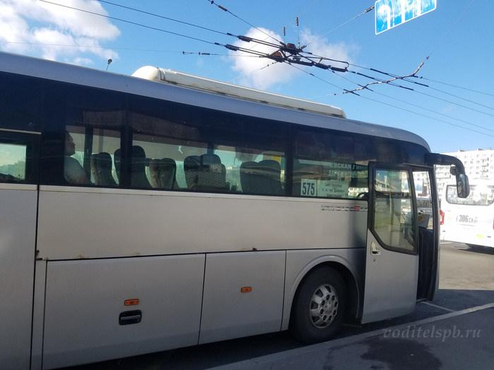 Автобус в Шлиссельбург от Дыбенко