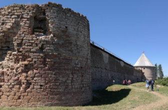 История крепости Орешек