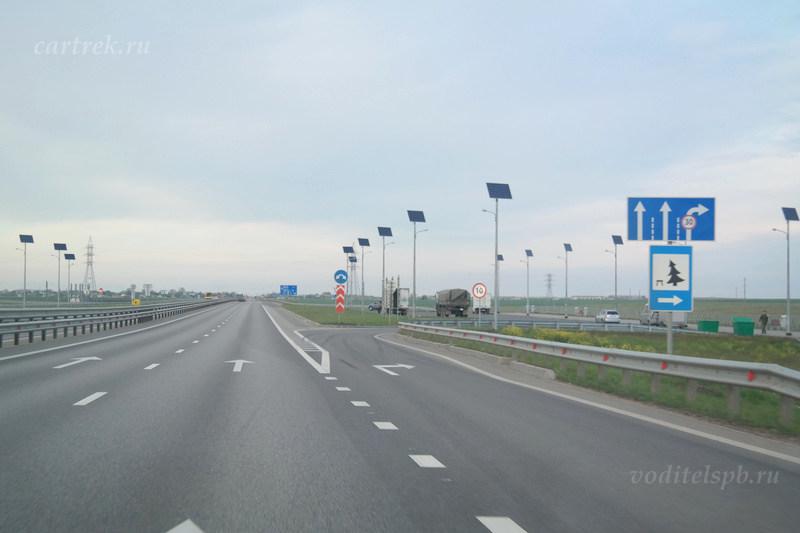 На машине в Крым