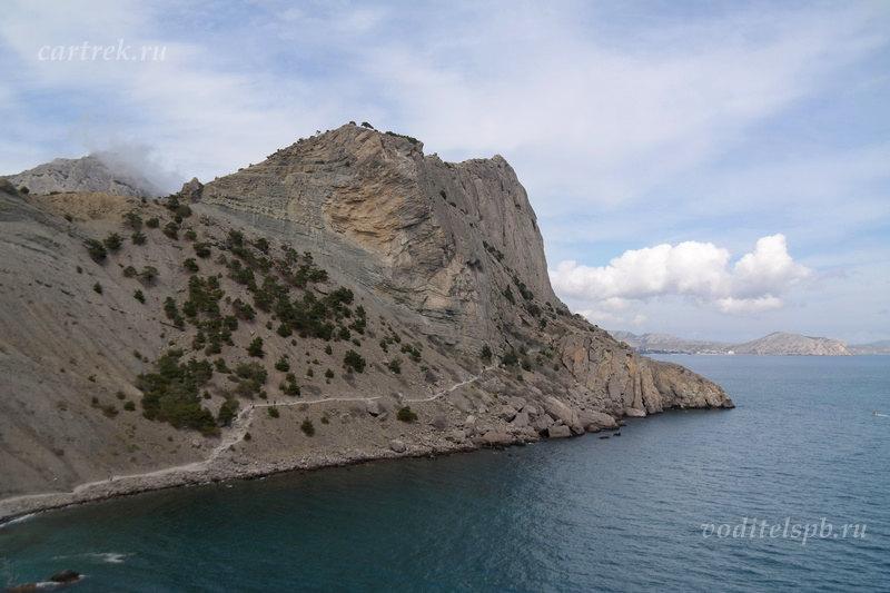 Тропа Голицына вдоль Синей бухты